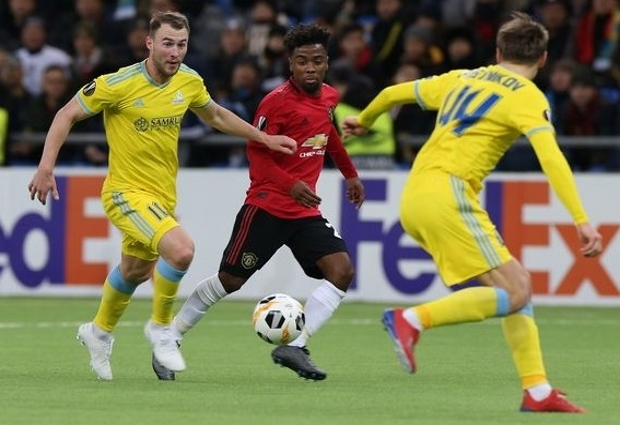 Astana 2 -1 Manchester United: Bernard own goal sends Solskjaer's youngsters to defeat