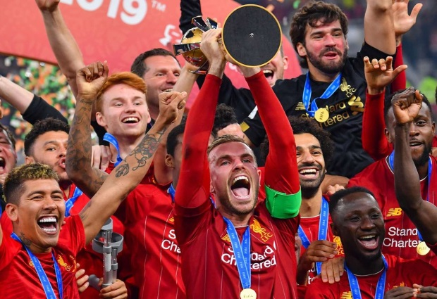 World champions Liverpool ready to take on the universe